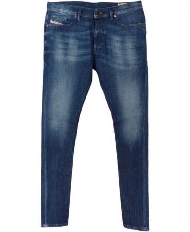 Diesel Mid Wash 0836x Tepphar Stretch Jeans