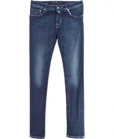 Mid Wash J622 Handmade Stretch Jeans