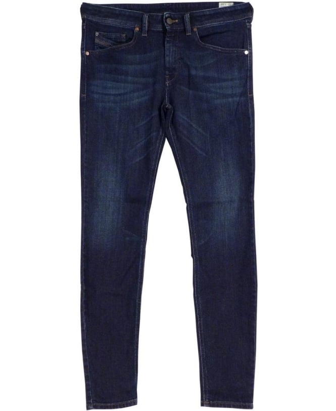 Diesel Mid Wash Stickker 0845I Stretch Super Slim Skinny Jeans