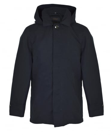 Scotch & Soda Midnight Hooded Clean Coat