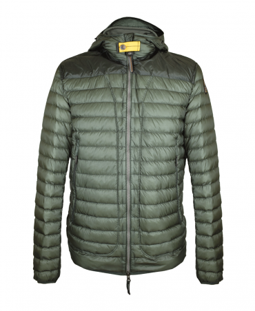 Military Green Alvin Hooded Jacket