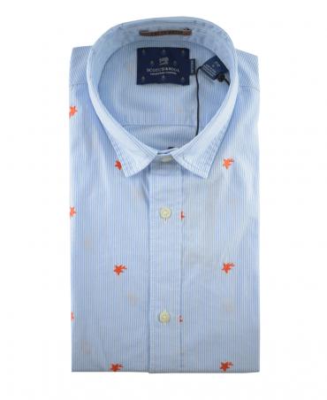 Scotch & Soda Mini Embroidered 139592 Shirt