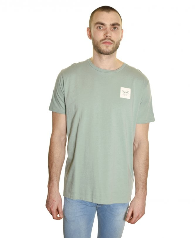 4a793c5c596 Wood Wood Mint W.W. Box Print T-Shirt - T-shirts from Jonathan ...