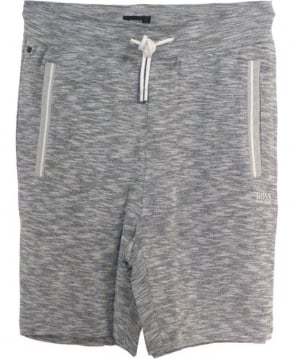 Hugo Boss Mottled Grey 50314842 Jogging Bottom Shorts