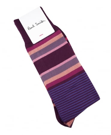 Paul Smith  Mulberry Lawn Stripe ATXC/380A/K491 Socks