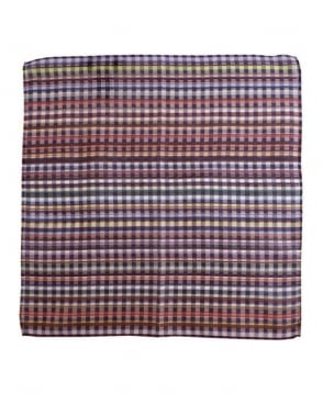 Paul Smith - Accessories Multi Check Pattern CHK Hankie