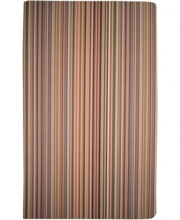 Paul Smith  Multi Stripe ARXC-BOOK-POCKM Medium Notebook