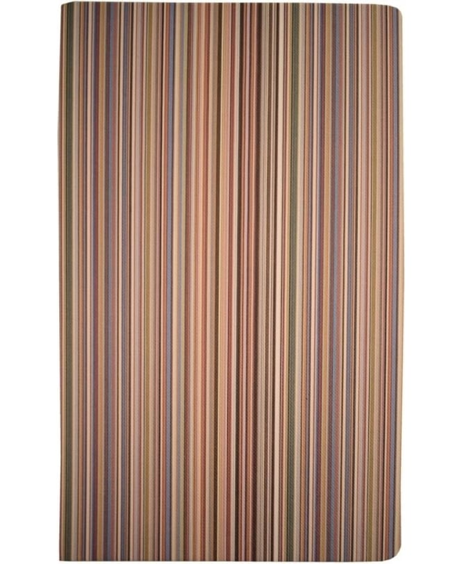 Paul Smith Multi Stripe ASXC-BOOK-POCKM Medium Notebook