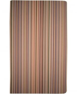 Paul Smith  Multi Stripe ASXC-BOOK-POCKM Medium Notebook