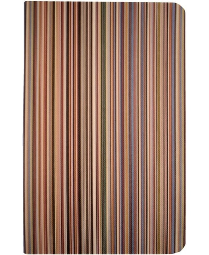 Paul Smith Multi Stripe ASXC-BOOK-POCKM Pocket Notebook