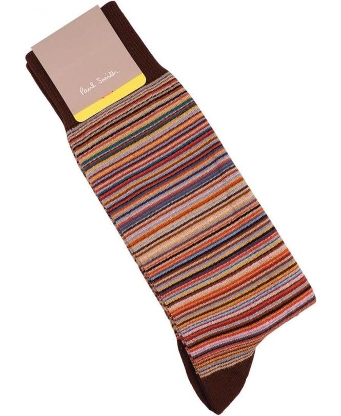 Paul Smith - Accessories Multi Stripe COAM-380A-F599A Sock