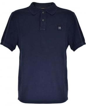 CP Company Navy 02CMPL002A Regular Fit Polo Shirt