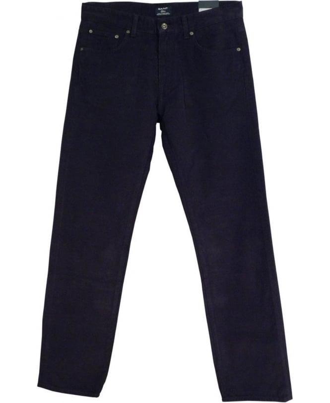 Gant Navy 1001709 Tyler Twill Jeans