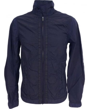 Scotch & Soda Navy 130661 Dyed Zip Blouson