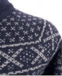 Scotch & Soda Navy 14040960028 Pattern Cardigan