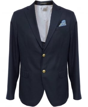 Manuel Ritz Navy 143109 Two Button Jacket