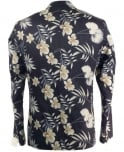 Scotch & Soda Navy 15010230006 Floral Chic Jacket