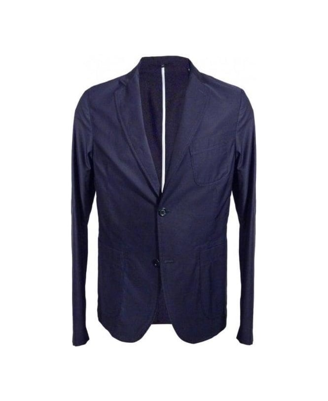 Esemplare Navy 2 Button Cotton Jacket