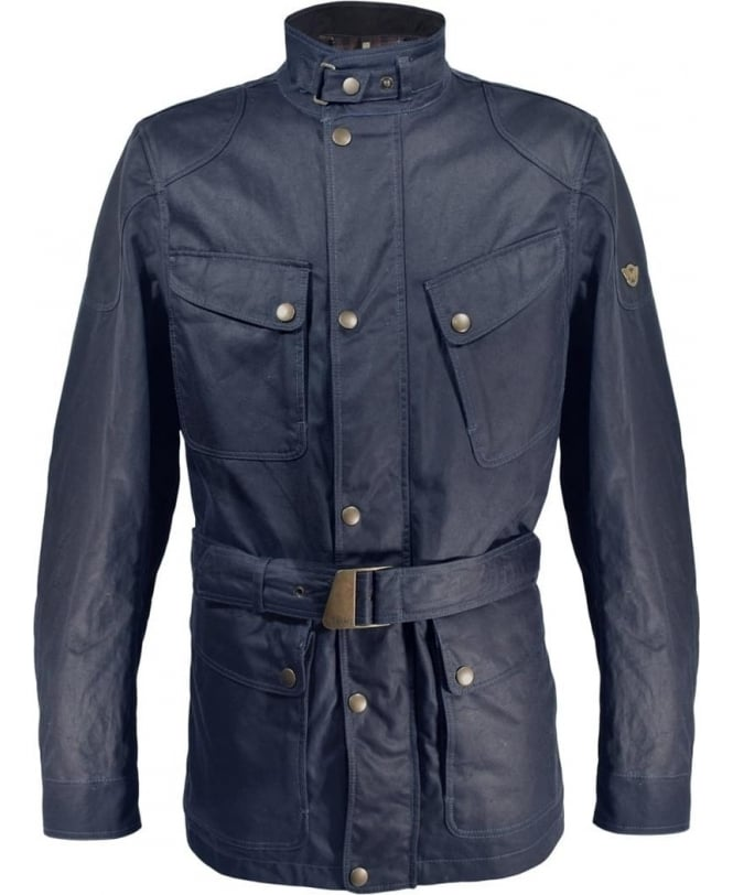 Matchless Navy 3/4 Wax Streetfarer Jacket