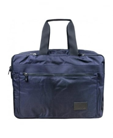 Lacoste Navy 3 Way Briefcase / Backpack
