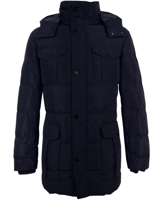 Hugo Boss Navy 50295838 Daciano Down Coat