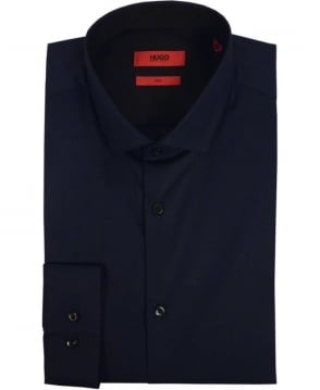 Hugo Navy 50297219 Erondo Slim Fit Shirt
