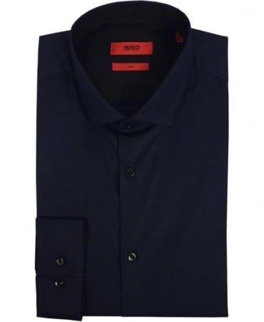 Hugo Navy 50297219 Erondo Slim Fit Shirt