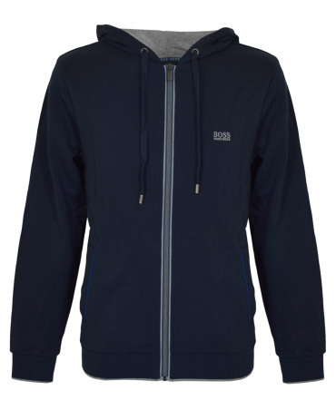 Navy 50378271 Hooded Jacket