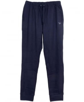 Armani Navy 5A574 Cotton Sweatpants