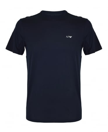 Armani Jeans Navy 8N6D01 Crew Neck T-Shirt