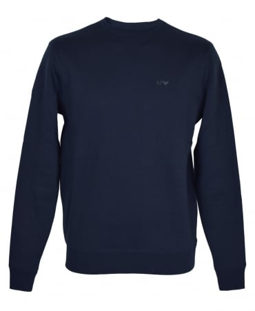 Navy 8N6M19 Crew Neck Sweatshirt