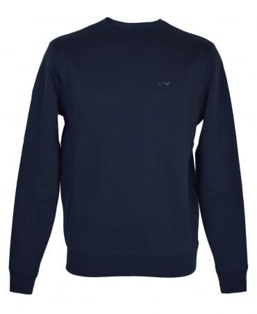 Armani Jeans Navy 8N6M19 Crew Neck Sweatshirt