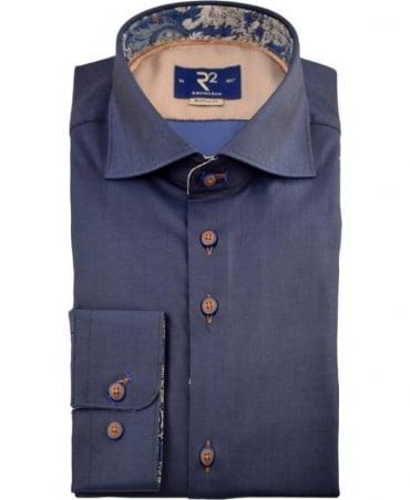 R2 Westbrook Navy 90.WSP.07 Long Sleeve Shirt