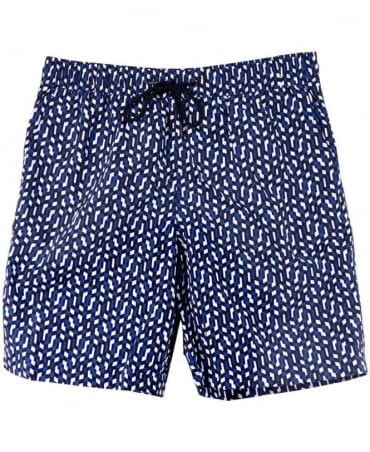 Paul Smith  Navy AMXA/240B/U56 Baracoa Long Classic Shorts