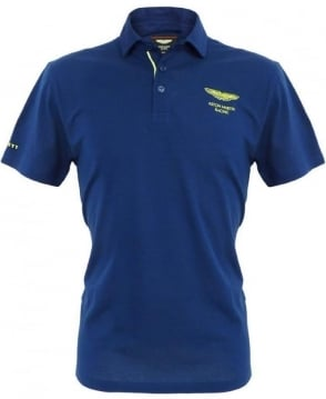 Hackett Navy Aston Martin Racing 560876 Tape Polo