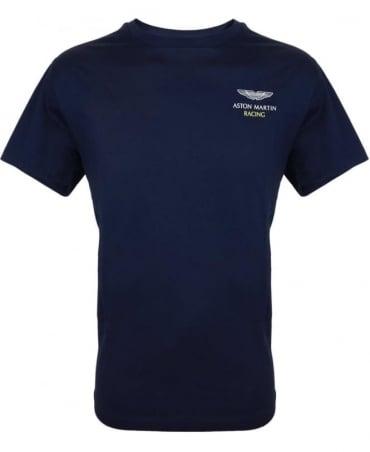 Hackett Navy Aston Martin Racing T-Shirt