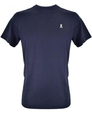 Psycho Bunny Navy B6U014CRPC Crew Neck T-Shirt