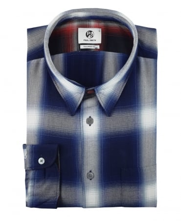 PS By Paul Smith Navy & Blue Check Shirt