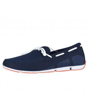 Swims Navy Breeze Lace Loafer
