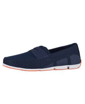 Swims Navy Breeze Penny Loafer