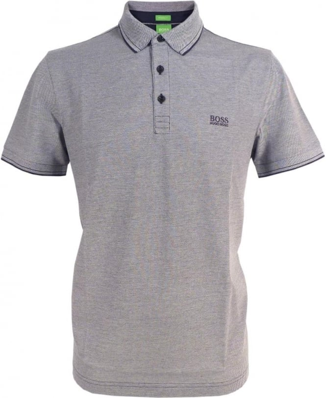 Hugo Boss Navy C-Vito Short Sleeve Polo