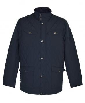 Gant Navy Central Pond Quilter Jacket