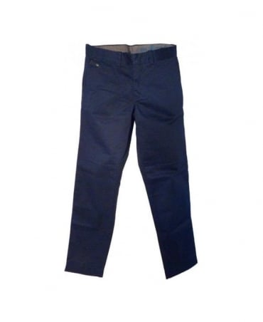 Navy Chi-Regs Button Fly Chinos