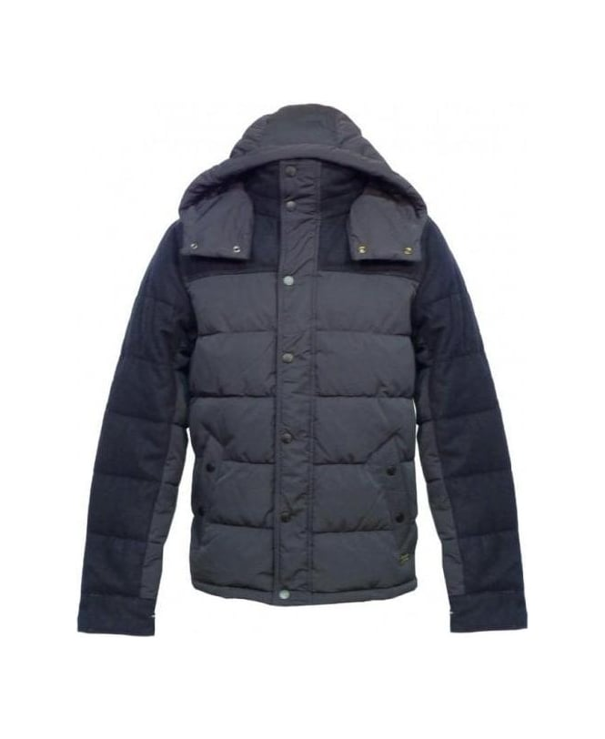 Scotch & Soda Navy City Down Jacket 13040910035