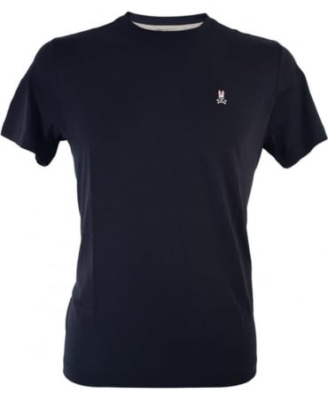 Psycho Bunny Navy Classic Crew Neck KN14 T-shirt