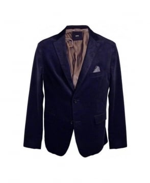 Hugo Boss Navy Coatsus Jacket