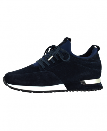 Navy Contrast Archway Trainer