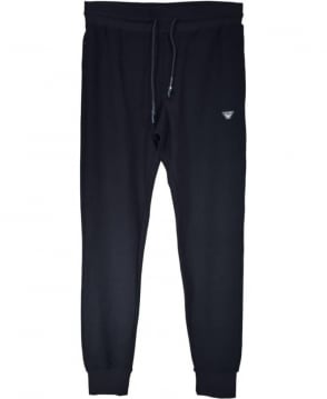 Armani Jeans Navy Cotton Tracksuit Bottoms