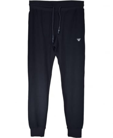 Armani Jeans Navy Cotton Tracksuit Bottoms