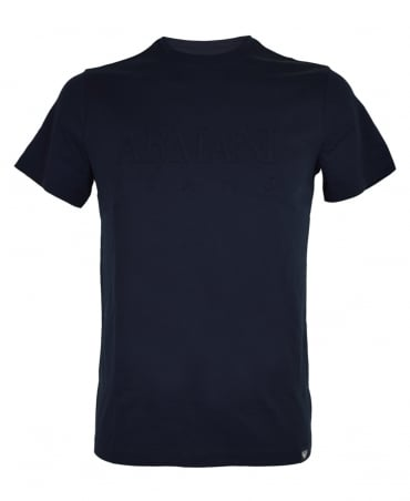 Armani Jeans Navy Crew Neck 6Y6T51 T-Shirt